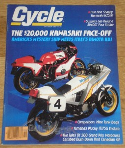 Cycle Magazine October 1980 - signed by Craig Vetter